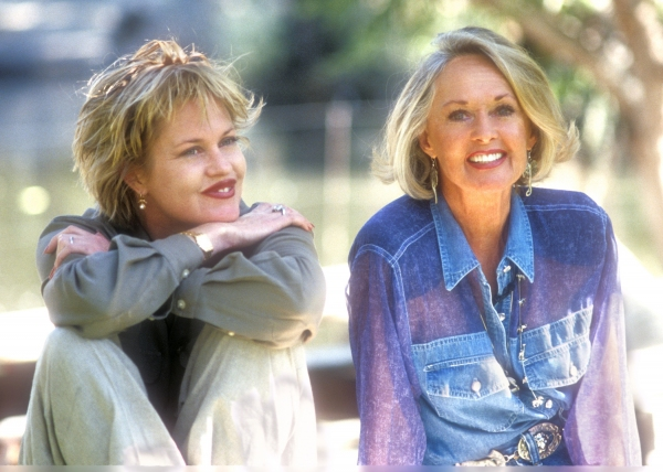 Melanie Griffith and Tippi Henden