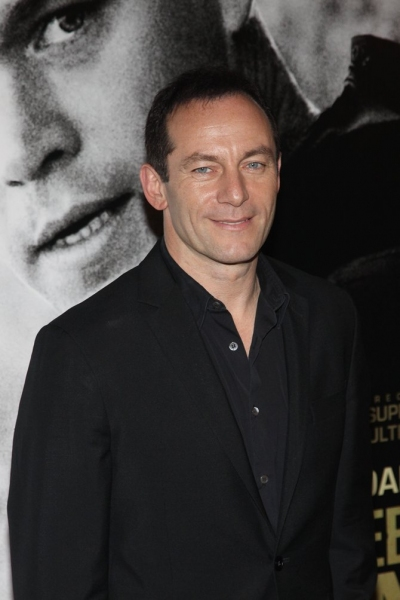 Jason Isaacs at Damon, Ryan, Stiles Attend GREEN ZONE Premiere At AMC Loews