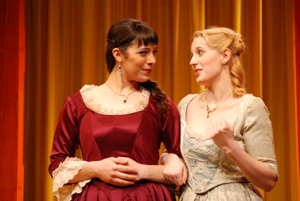 Abbi Hawk as Violante and Valerie Redd as Isabella