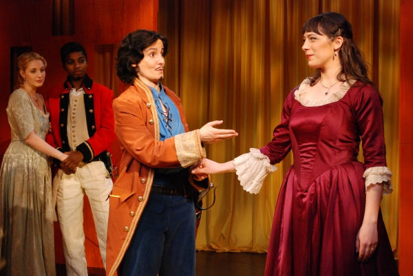 Valerie Redd as Isabella, Maryam Benganga as Colonel Britton, Virginia Baeta as Don Felix and Abbi Hawk as Violante