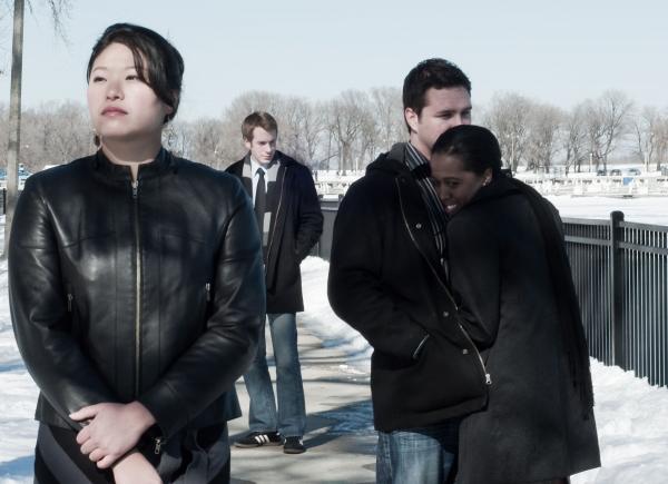 Christine Lin, Brett Lee, Doug Tyler and Ebony Wimbs