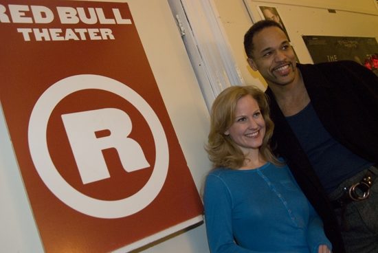 Heidi Armbruster & Keith Hamilton Cobb at Red Bull Theatre Opens THE DUCHESS OF MALFI