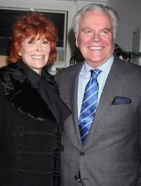 Jill St. John and Robert Wagner
