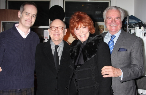 Jack Cummings III, Matt Crowley, Jill St. John and Robert Wagner