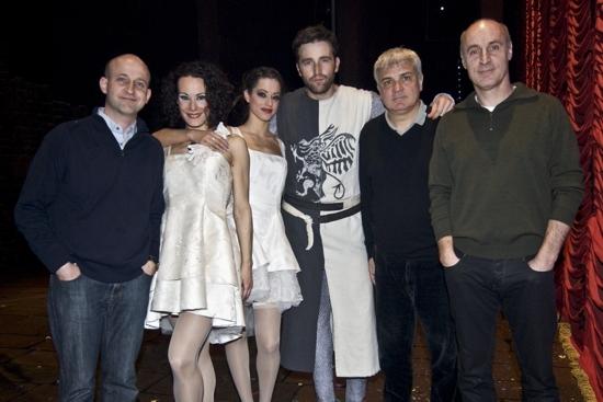 Marc Monserrat, Gemma García, Cristina Domínguez Fernando Gil, Joan Gracia and Paco Mir