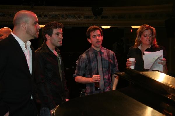 Jarrod Spector, Alex Brightman, Gaelen Gilliand
