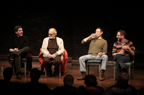 Paul Rudnick ( (Playwright, Author), Larry Kramer (Playwright, Author, Activist), Jon Marans (Author) & Jonathan Silverstein (Director)
