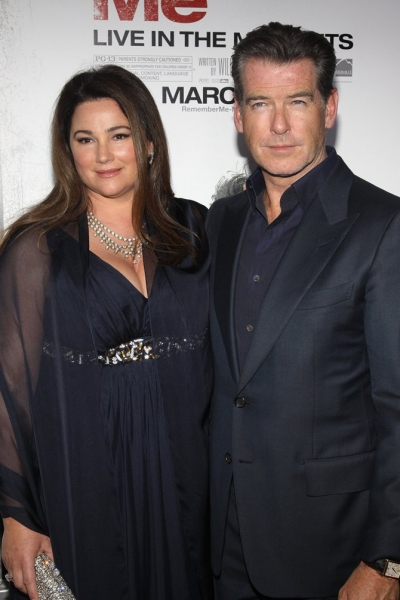Pierce Brosnan and wife Keely Shaye-Smith 