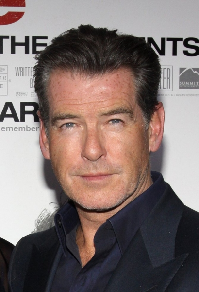 Pierce Brosnan at 'Remember Me' Premieres at the Paris Theater in NYC