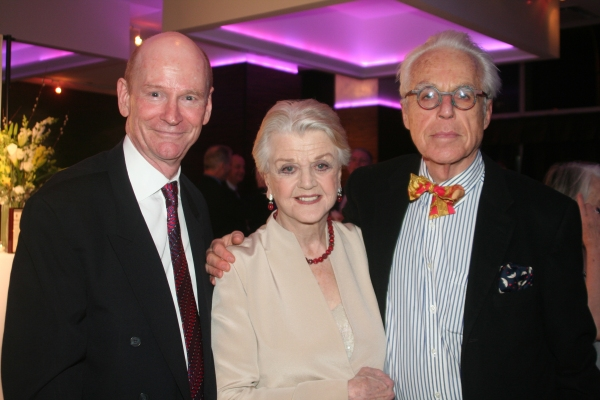 Robert Callely, Angela Lansbury and John Guare