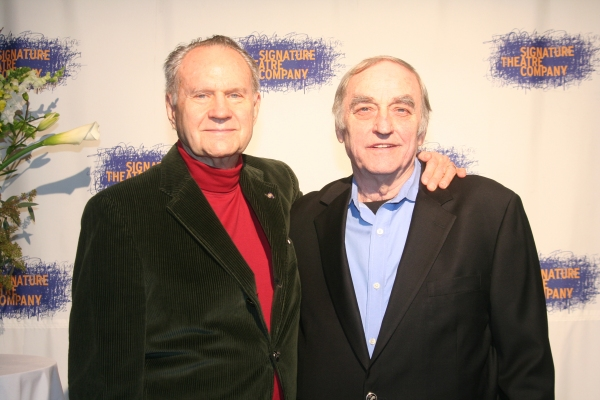 Romulus Linney and Lanford Wilson at Signature Theatre Company's Gala