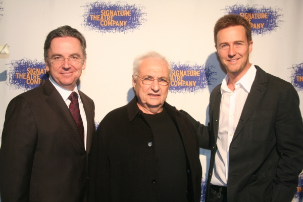 James Houghton, Guest of Honor Frank Gehry and Edward Norton