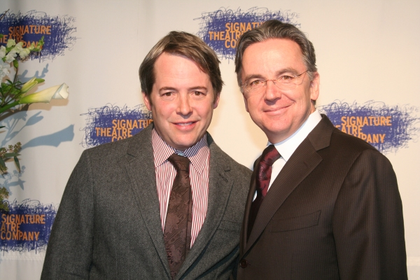 Matthew Broderick and Jim Houghton
