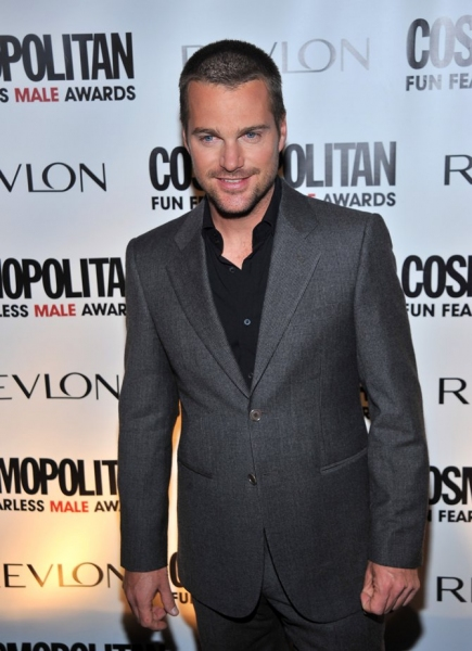 Chris O'Donnell at Cosmo Mag's 'Fun Fearless Males of 2010'