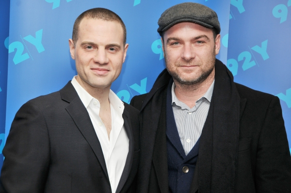 Photo Flash: Liev Schreiber & Jordan Roth in 'Broadway Talks' Discussion