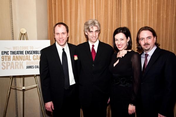 Epic Founders James Wallert, Zak Berkman, Melissa Friedman and Ron Russell  Photo