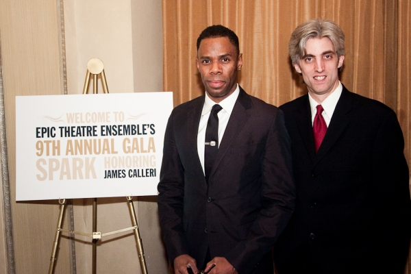 Colman Domingo and  Zak Berkman