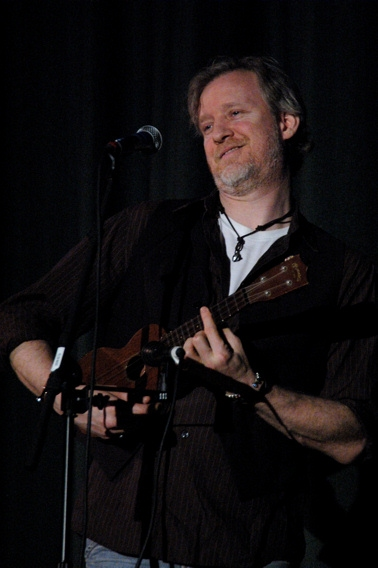 Chris Barron at Brian d'Arcy James Leads 'Broadway Stars Rock for School Music'