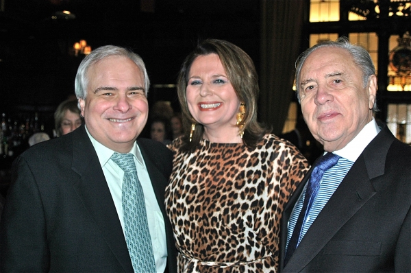 Peter Filicia, Randie Levine-Miller and Ted Miller