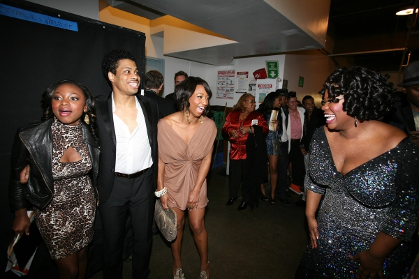 Naturi Naughton, cast member Chester Gregory, actress Monique Coleman and cast member Moya Angela