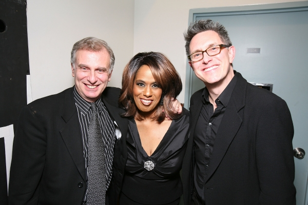 Producer John Breglio, original Dreamgirl Jennifer Holliday and Director/Choreographer Robert Longbottom