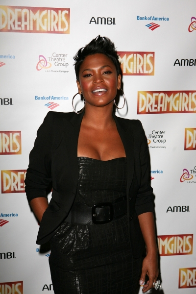 Nia Long at Devine, Ralph & Holliday Attend Opening of DREAMGIRLS at Ahmanson Theatre