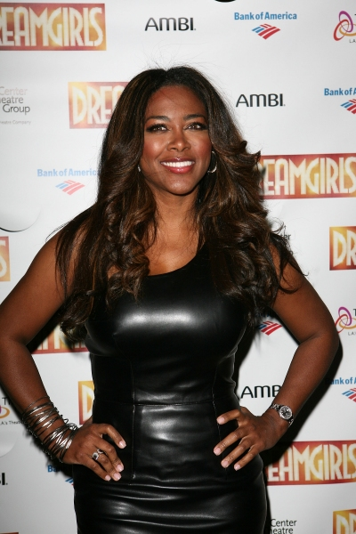 Kenya Moore  at Devine, Ralph & Holliday Attend Opening of DREAMGIRLS at Ahmanson Theatre