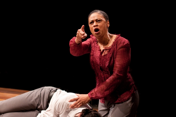 Melanye Finister as Lady Capulet