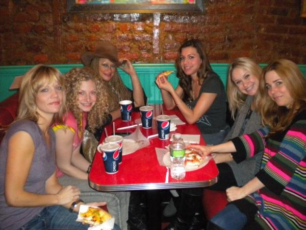 Jenifer Foote, Lauren Molina, Michele Mais, Angel Foote, Becca Tobin, Kerry Butler