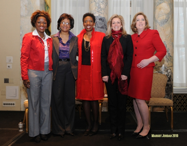 Sylvia Nelson Paul, Customer Marketing Manager - Healthcare Consumer, Customer Strategies and Solutions at Merck Director at Merck, Deborah C. Wright, Chairman & CEO of Carver Bancorp, Carla Harris Managing Director of Morgan Stanley and Dr. Mary Ann McLa
