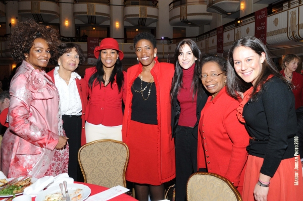 Saundra Parks, The Daily Blossom,  Mrs. Alma Rangel, Hasani Pratts,  Carla Harris, Rosanna Troiano, Dr. Marcella Maxwell Ph.D and Sasha Greene