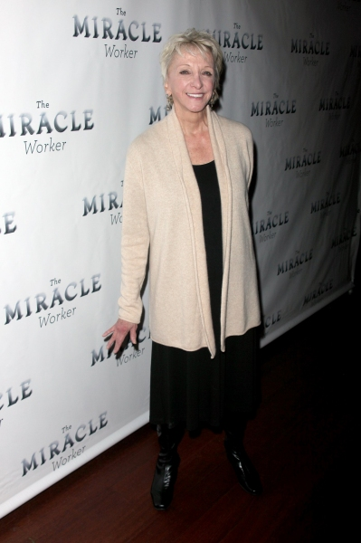 Elizabeth Franz at THE MIRACLE WORKER Opening Night Party!