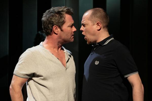 Marty Maguire (Oscar) and Chris Corrigan (Eamon) Photo