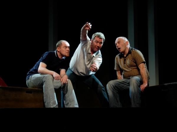 Chris Corrigan (Eamon), Marty Maguire (Oscar) and Marc O'Shea (Toot)