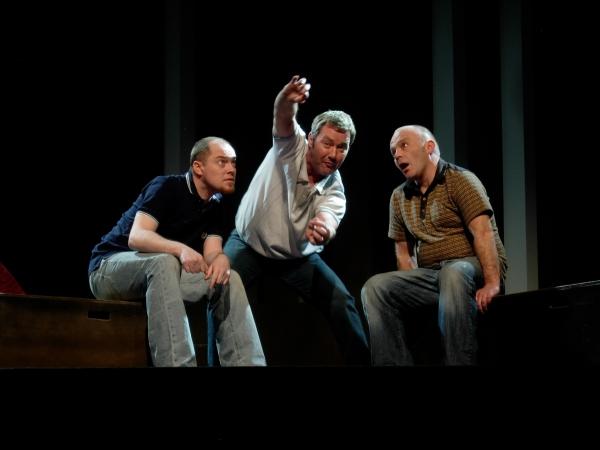 Chris Corrigan (Eamon), Marty Maguire (Oscar) and Marc O'Shea (Toot) Photo