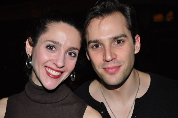 Photo Coverage: PHANTOM Cast Celebrates Bway Late Night with Bway League