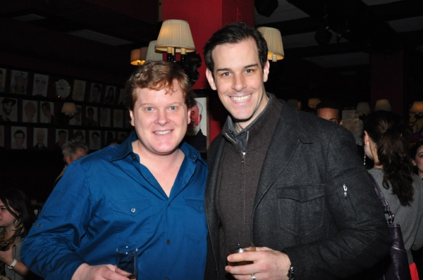 Mark Aldrich (Ragtime), Jeremy Stolle at PHANTOM Cast Celebrates Bway Late Night with Bway League