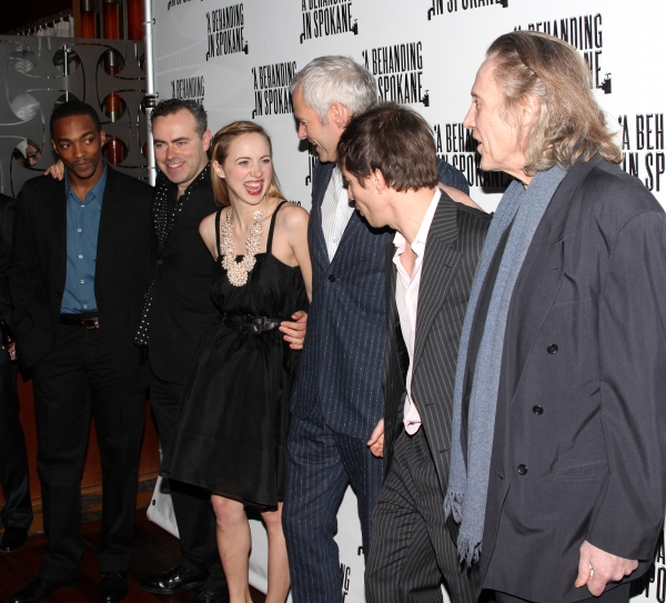 Anthony Mackie, John Crowley, Zoe Kazan, Martin McDonagh, Sam Rockwell & Christopher Walken