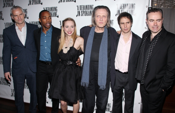 Martin McDonagh, Anthony Mackie, Zoe Kazan, Christopher Walken, Sam Rockwell & John Crowley