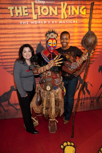 Rosita Chapman of Madame Tussauds, Rafiki Wax Figure and Buyi Za