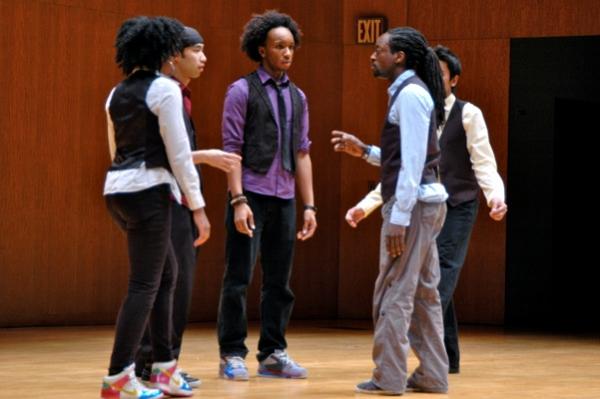 African Fusion Dancers-Kambi Gathesha, Paula Barnett, David Irwin, Shinksuke Nuriya and Alan Watson