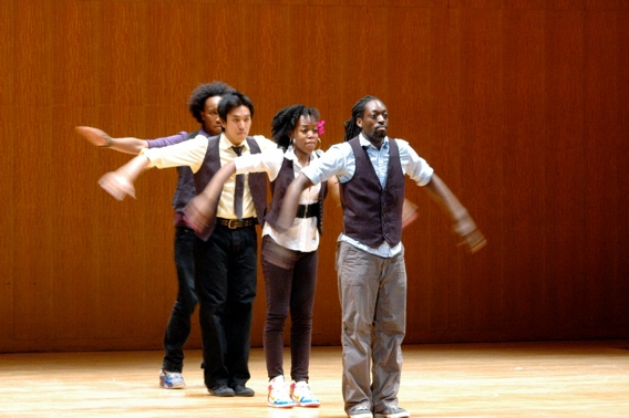 Photo Coverage: FELA!'s Kevin Mambo Leads Sing for Hope-Art U! Program