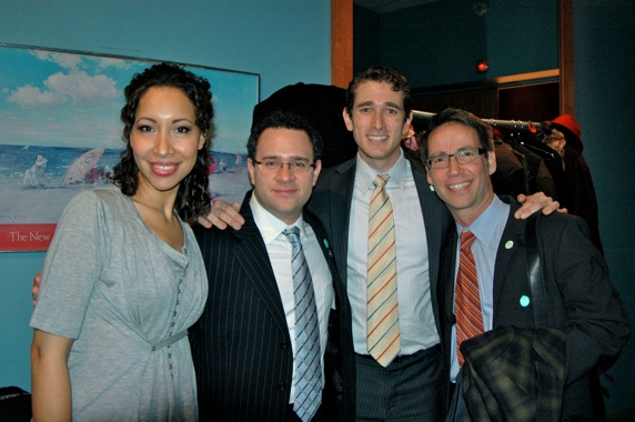 Nicole Cabell, Patrick Carfizzi, Christopher C. Herbert and Gerald Steichen