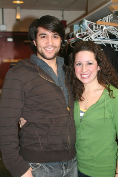 Photo Coverage: Backstage at NINE With Cuccioli at WBT