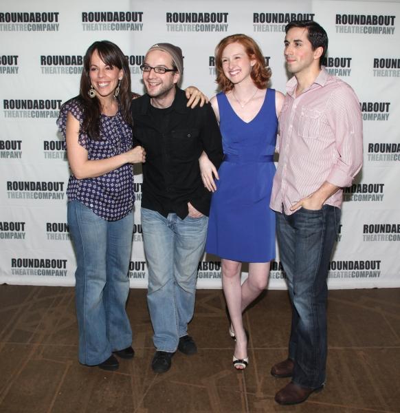 Photo Coverage: Cast of SONDHEIM ON SONDHEIM Meets The Press!