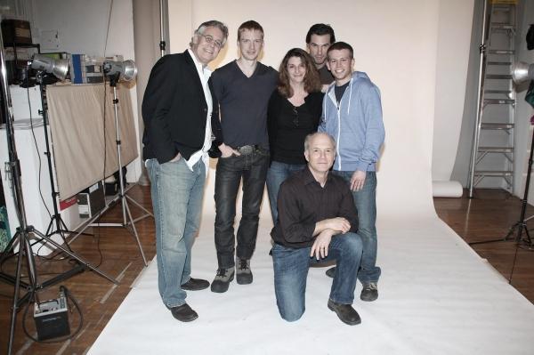 Scott Jaeck, Roderick Hill, Carol Rosegg, Austin Peck, Dan Butler and Brian Leahy