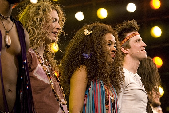 Photo Coverage: Original Cast of HAIR Revival Plays Final Show Before London!