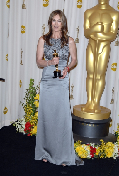Kathryn Bigelow at Inside the Oscar Press Room!