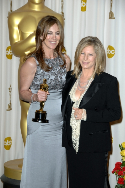 Kathryn Bigelow and Barbra Streisand