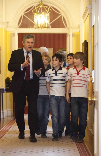 Photo Flash: BILLY's Chapman, Holland, Gardner & Jackson-Keen Visit Prime Minister